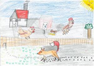 Mráz Erzsébet Irma - Ha a róka erre jár - Pásztor Máté rajza