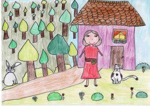 Szilvás Gabriella_A gazdira talált kis cica-Kovács Anna 2 b