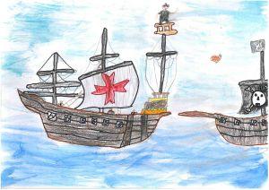 Zwonitschek Máté_Az öreg kalóz története