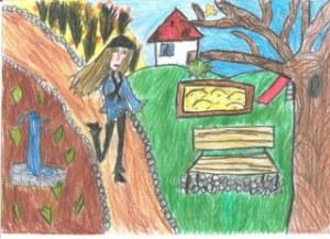 Várady Lilla A kis gesztenye története. Illusztrálta  a szerző.Várady Lilla. 4.o. Balatonkenesei Pilinszky J. Ált. Isk és Alapfokú Műv. Isk._320x232
