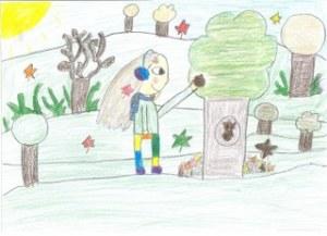 Várady lilla A kis gesztenye története. Illusztrálta Bőczi Fanni 4.o. Balatonkenese Pilinszky Iskola_320x232