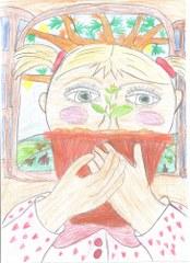 Várady Lilla  A kis gesztenye története. Illusztrálta Piller Anna 4.o. Balatonkenesei Pilinszky J. Ált. és Alapfokú Műv. Isk._174x240